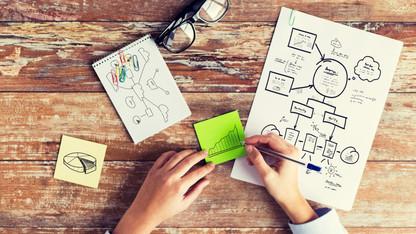 생각의 확장을 위한 마인드맵 그리기